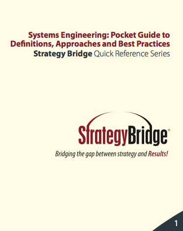 Systems Engineering pocket guide